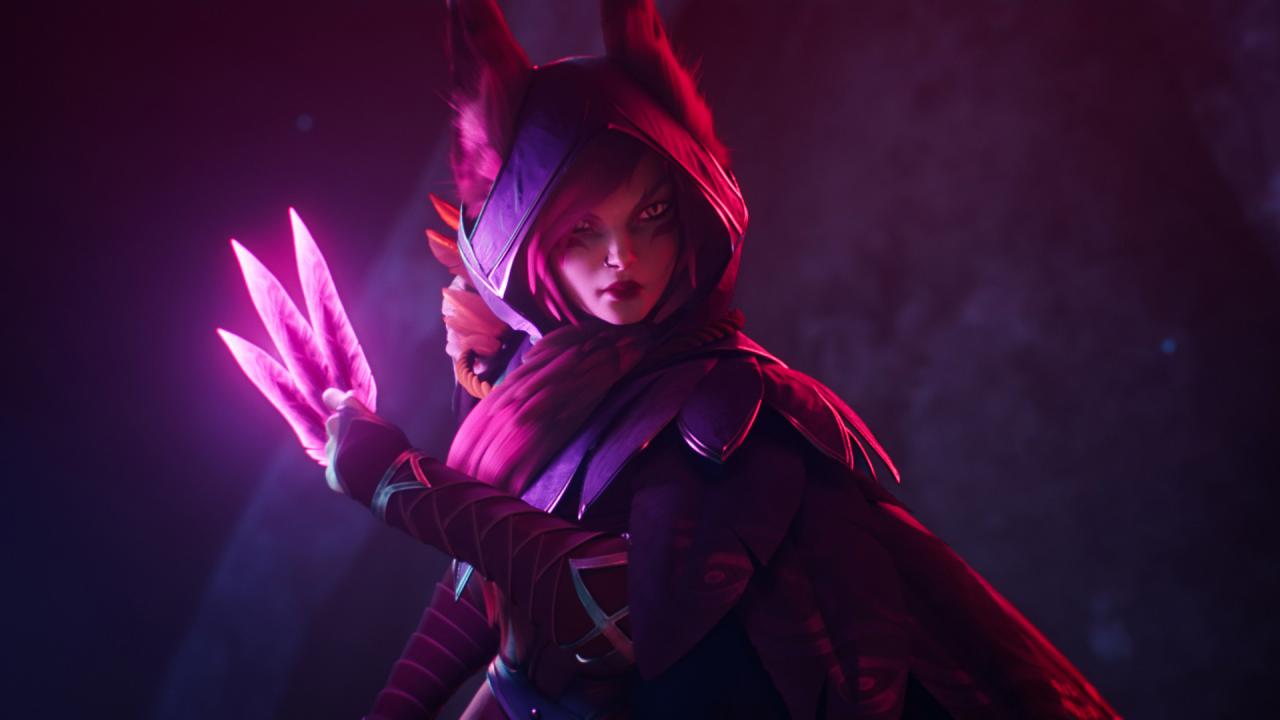 dev: La animación Xayah | League of Legends